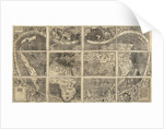 World map Universalis Cosmographia, 1507 by Martin Waldseemüller