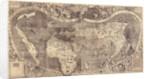 World map Universalis Cosmographia, 1507 by Martin Waldseemüller