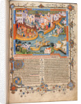 Marco Polo?s departure from Venice in 1271 (From Marco Polo?s Travels), ca 1400 by Anonymous