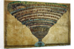 Illustration to the Divine Comedy by Dante Alighieri (Abyss of Hell), 1480-1490 by Sandro Botticelli