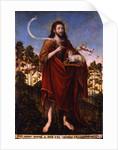 Saint John the Baptist, 1550-1552 by Lucas Cranach the Elder