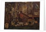 Old Paris, 1913 by Boris Dmitryevich Grigoriev