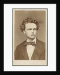 August Strindberg by Mathias Hansen