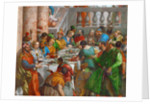 The Wedding Feast at Cana (Detail) by Paolo Veronese