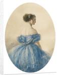 Portrait of Princess Anna zu Sayn-Wittgenstein by Mihály Zichy