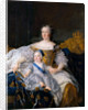 Marie Leszczynska with Louis, Dauphin of France by Alexis Simon Belle