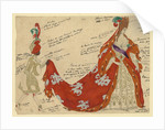 Costume design for the ballet Sleeping Beauty by P. Tchaikovsky by Léon Bakst