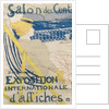 La passagere du 54 - Promenade en yacht (Salon des Cent) by Henri de Toulouse-Lautrec