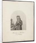 Portrait of Barbara Juliane von Krüdener by Friedrich Wilhelm Meyer the Elder