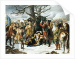 Maréchal de Turenne Asleep on the Eve of the Battle of Turckheim by Charles-Jacques Lebel