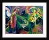 Deer in Cloister Garden by Franz Marc