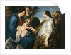 The Mystical Marriage of Saint Catherine by Sir Anthony van Dyck