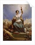 France Illuminating the World (La France Eclairant le Monde) by Ange-Louis Janet