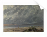 Beach Scene by Gustave Courbet