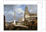 Santa Trinità dei Monti and Villa Medici in Rom by François Marius Granet