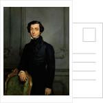Portrait of Alexis de Tocqueville by Théodore Chassériau
