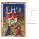 The founding of the Oehringen convent of canons in 1037 by Anonymous