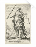 Fairness (Justice) by Hendrick Goltzius