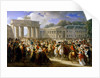 Entry of Napoleon into Berlin, 27 October 1806 by Charles Meynier