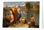 Moses Saved from the Water by Nicolas Poussin