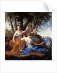 The Muses Clio, Euterpe, and Thalia by Eustache Le Sueur