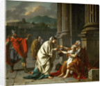 Belisarius Begging for Alms by Jacques Louis David
