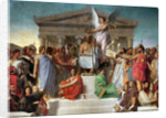 The Apotheosis of Homer by Jean Auguste Dominique Ingres