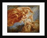 Genius Crowning Religion. Sketch for the Apotheosis of King James I by Pieter Paul Rubens