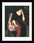 Portrait of Madame Zamaron by Suzanne Valadon
