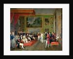 Wedding of Prince Eugène de Beauharnais and Princess Augusta of Bavaria, January 13, 1806 by François-Guillaume Ménageot