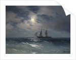 Brig Mercury by Ivan Konstantinovich Aivazovsky