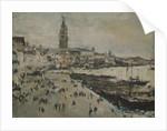 The Schiavoni quay in Venice by Valentin Alexandrovich Serov