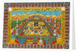 The holy sanctuary at Mecca by Anonymous