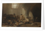 The Madhouse (Asylum) by Francisco de Goya