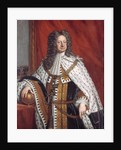 Portrait of George I in Anointment Robe by Sir Gotfrey Kneller