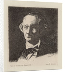 Portrait of the poet Charles Baudelaire by Édouard Manet