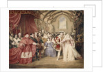 The Banquet of Henry VIII in York Place by James Stephanoff
