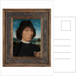 Portrait of a Man with a Roman Medal by Hans Memling