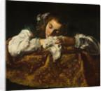 Sleeping Girl by Domenico Fetti