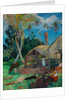 The Black Pigs by Paul Eugéne Henri Gauguin