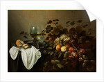 Still Life with Fruit and Roemer by Pieter Claesz
