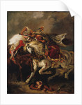 The Combat of the Giaour and the Pasha by Eugène Delacroix