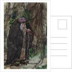 Naina.Costume design for the opera Ruslan and Lyudmila by M. Glinka by Valentin Alexandrovich Serov