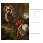 The Rape of Rebecca by Eugène Delacroix