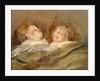 Two Sleeping Children by Pieter Paul Rubens