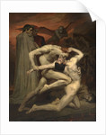 Dante and Virgil in Hell by William-Adolphe Bouguereau
