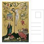 Christ on the Cross as Redemptor Mundi by Westphalian Master