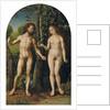 Adam and Eve by Jan Gossaert
