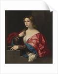 Portrait of a young woman (La Bella) by Jacopo Palma il Vecchio the Elder