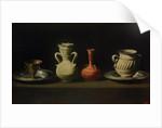 Still Life with Four Vessels by Francisco de Zurbarán